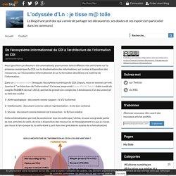 De l'écosystéme informationnel du CDI à l'architecture de l'information au CDI