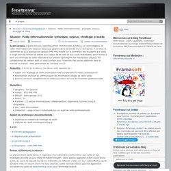 Séance : Veille informationnelle : principes, enjeux, stratégie et outils