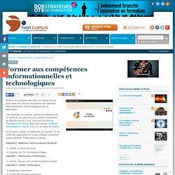 Former aux compétences informationnelles et technologiques