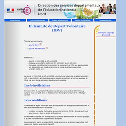Personnels privés - Informations administratives