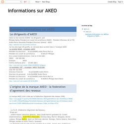 informations sur AKEO