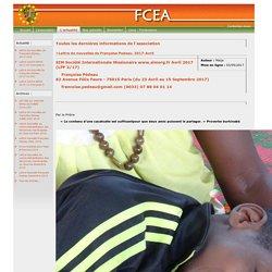 FCEA - Toutes les dernières informations de l'association
