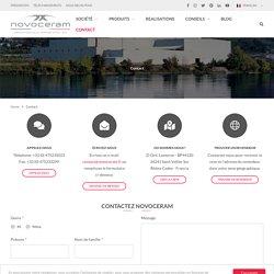 Contactez Novoceram pour recevoir des informations sur les collections ou l'entreprise