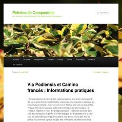 Via Podiensis et Camino francés : Informations pratiques