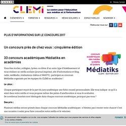 Concours Médiatiks- CLEMI