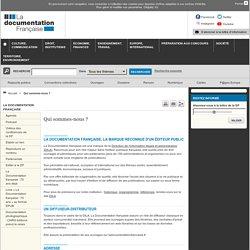 Les conférences et entretiens de la Documentation française
