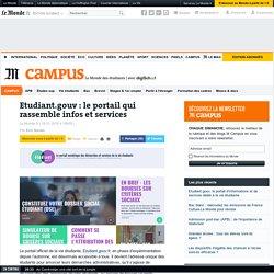 Etudiant.gouv, le portail d'informations et de services dédié à la vie étudiante
