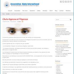 Nos informations et méthodes sur l'hypnose et l'auto-hypnose