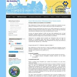 Realiser l'enquete - Plan de deplacement Entreprises & informations multimodales
