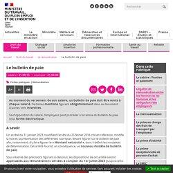 Bulletin de paie : les informations obligatoires