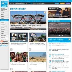Informations et news au MOYEN-ORIENT - Toute l'actualité sur FRANCE 24