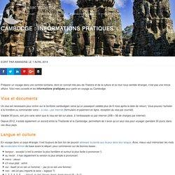 Cambodge : informations pratiques