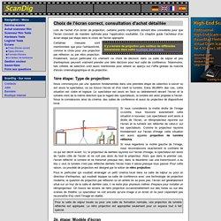 Infos d'écran: Informations pour la sélection d'écran motorisé écran de projection mur de projection: Présentation, modèle d'écran, masquage, type d'écran