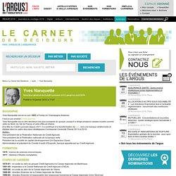 Yves Nanquette, Directeur général du Crédit Lyonnais (LCL) jusqu'en avril 2016: informations et profil professionnel