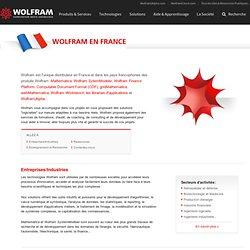 Informations spéciales sur Mathematica pour les professionnels en France
