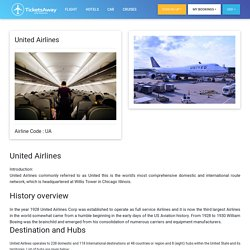 United Airlines Informations on booking, rebooking, contact, customer service