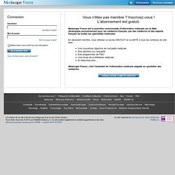 Medscape France - Informations & Ressources médicales pour médecins