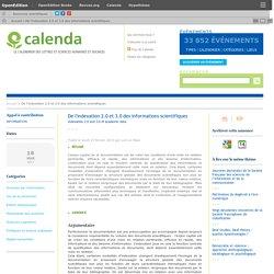 De l'indexation 2.0 et 3.0 des informations scientifiques