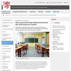 Der Hessische Beauftragte für Datenschutz und Informationsfreiheit