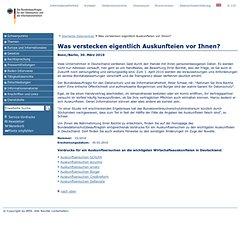 esbeauftragter für den Datenschutz und die Informationsfreiheit