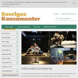 Informationsmaterial - Sveriges Konsumenter