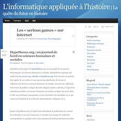 La quête du futur en histoire - L'informatique appliquée à l'histoire