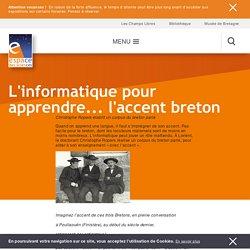 L'informatique pour apprendre... l'accent breton