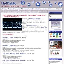 Informatique et internet pour les débutants : 6 guides d'apprentissage par les EPN de Saint-Hilaire-de-Riez