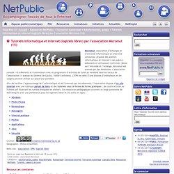 Tutoriels informatique et internet (logiciels libres) par l'association Micromut (16)