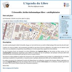 L'Agenda du Libre : Atelier informatique libre
