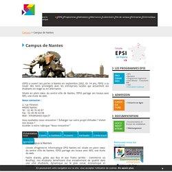 ecole informatique EPSI - Campus de Nantes