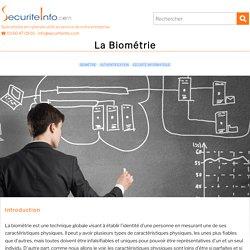 La Biométrie : la sécurité informatique grâce aux caractéristiques physiques de l'utilisateur
