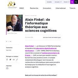 Alain Finkel : de l'informatique théorique aux sciences cognitives