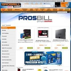 Composant informatique : achat de composants pour ordinateur et PC en ligne
