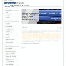 Avocat - droit pénal - informatique - cybercriminalité - piratage - Contrefaçon