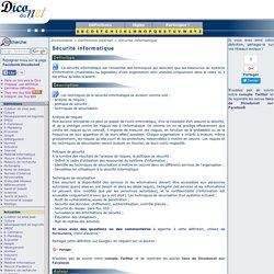 Sécurité informatique - Définition de Sécurité informatique