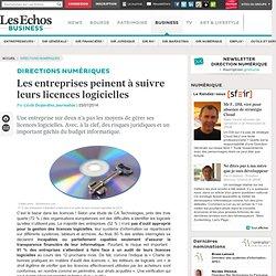 Direction Informatique : les entreprises peinent à suivre leurs licences logicielles