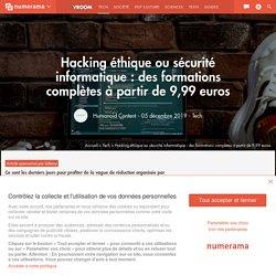 Hacking éthique ou sécurité informatique : des formations complètes à partir de 9,99 euros