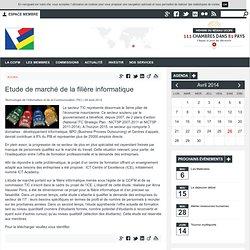 Etude de marché de la filière informatique - Chambre de commerce et d'industrie France Maurice