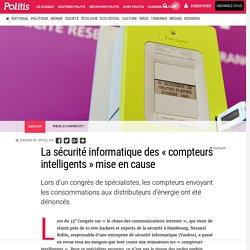 La sécurité informatique des «compteurs intelligents» mise en cause par Claude-Marie Vadrot