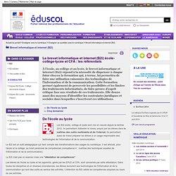 Brevet informatique et internet - Modèles attestations B2i - ÉduSCOL