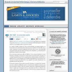 IBM / MAIF : le contrat était valable » Droit de l'informatique, internet et télécoms