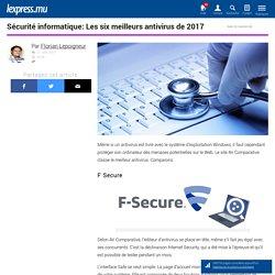Sécurité informatique: Les six meilleurs antivirus de 2017