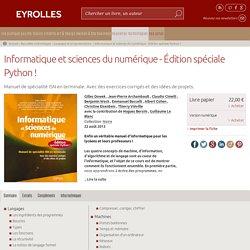 Informatique et sciences du numérique - Édition spéciale Python !... - Éditions Eyrolles