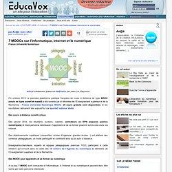 7 MOOCs sur l'informatique, internet et le numérique