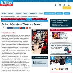 Informatique, Télécoms et Réseaux : infos du secteur et métiers