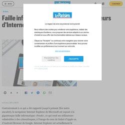 Faille informatique «Freak» : les utilisateurs d'Internet Explorer touchés