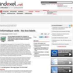Informatique verte : les éco-labels
