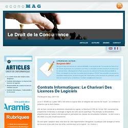 Contrats informatiques: le charivari des licences de logiciels