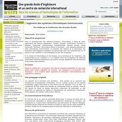 Mastère spécialisé en Ingénierie des systèmes informatiques communicants